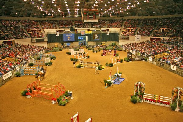 happy z and wilhelm genn wow crowd with victory in inaugural 40 000 nutrena show jumping grand. Black Bedroom Furniture Sets. Home Design Ideas