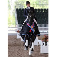 Tanya Strasser-Shostak and Dancing Tyme at the 2013 Wellington Classic Dressage Spring Challenge