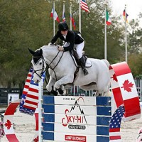©ESI Photography. Katie Tyler and Seattle 6 rode to a win in the $5,000 NAL Amateur-Owner Jumper Classic Medium