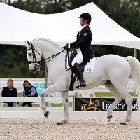 Jacqueline Brooks and D Niro at the 2013 Palm Beach Dressage Derby CDI-W