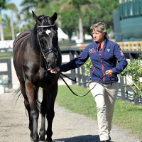 Mary Jordan's horse Sebastian and Missy Ransehousen