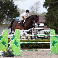 ©ESI Photography. Laura Linback and Whittaker MVNZ got things started at HITS Culpeper with a win in the $15,000 Brook Ledge Open Jumper Prix