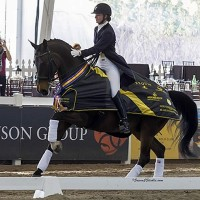 Lyle and Wizard at 2012 World Dressage Masters Palm Beach