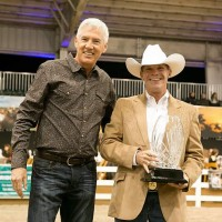 EAF President Scot Evans and 2013 EAF Luminary Award winner Bruce Duchossois by Tom Tracy Photography
