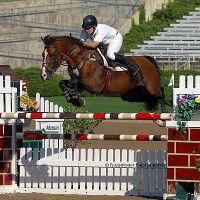 Aaron Vale and 2VR Showjumpers' Zenith UHS beat 35 others to win the $15,000 Open Welcome