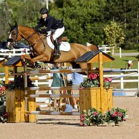 Elizabeth Gingras guides George to victory in Thursday's $35,000 CSI2* Henry Equestrian Plan Open Welcome