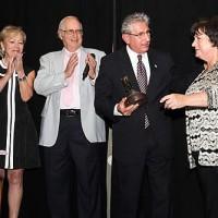 Ellen and Herbert Moelis, Assemblyman Tedisco, and Susan Wagner