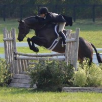 Mythical and Kelley Farmer win the Classic Round of the $50,000 USHJA International Hunter Derby