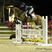 Kama Godek and her sale horse Vincent VD Henrietlehoeve