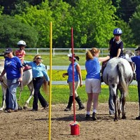 Therapeutic Riding programs are one of the beneficiaries of the Equus Foundation, dedicated to help horses and heal people.