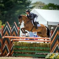 Buck Davidson and Ballynoe Castle RM, 2014 Rolex/USEF National CCI4* Reserve Champions (Shannon Brinkman Photo)