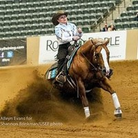 Mandy McCutcheon & Yellow Jersey (Alleyn Evans for Shannon Brinkman/USEF photo)