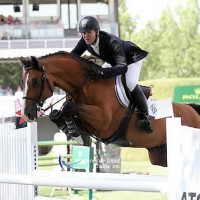 McLain Ward and HH Cannavaro. Photo copyright Jennifer Wood Media, Inc.