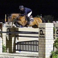 Ramiro Quintana and Caramello Z put in a speedy jump off round to grab second place