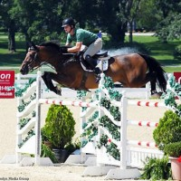 Shane Sweetnam on Fineman puts in a quick showing for second place