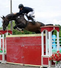 ©ESI Photography. Tracy Fenney and MTM Timon claim the win in the $15,000 Brook Ledge Open Jumper Prix