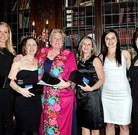 Guests at 'A Royal Canadian Evening' included Megan Lane, Belinda Trussell, Desi Dillingham, Victoria Winter, Eva Havaris and Christine Peters.