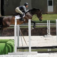 Taylor Harris and Kavanaugh IV jump the water