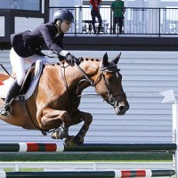 Abigail McArdle of USA riding Cosma 20