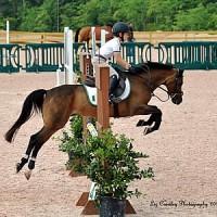 Daniel Kerins with his pony Gentleman Jim