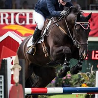 Kim Severson and 8 year old Irish Sport Horse Cooley Cross Border