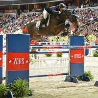 Last year's grand prix winners, McLain Ward and HH Carlos Z. Photo © Shawn McMillen Photography