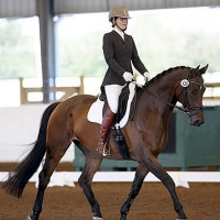 Ashlee Watts and Hampton are heading to the U.S. Dressage Finals after clinching the GAIG Training Level Test 3 title
