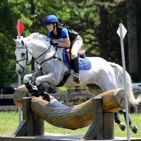 Alanna Regan and Rupert competing in the Training Horse Trials at Southern 8ths