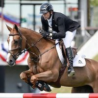 Eric Lamaze and Melody des Hayettes