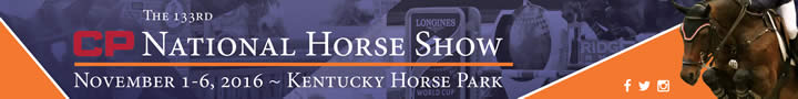 CP National Horse Show November 1-6, 2016 - Kentucky Horse Park